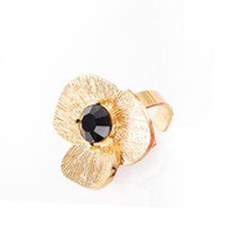 Nice regalos hermosos anillo en forma de flor joyeria for Banos electroliticos para joyeria