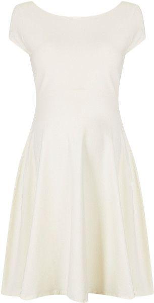 Topshop Maternity Bardot Flippy dress