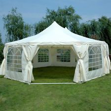 Quictent 2016 new Party Tent Marquee 9 x 6.5M Gazebo Canopy Carport wedding car