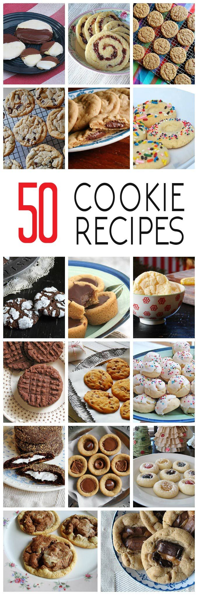 These cookie recipes include holiday cookies, chocolate chip cookie recipes…