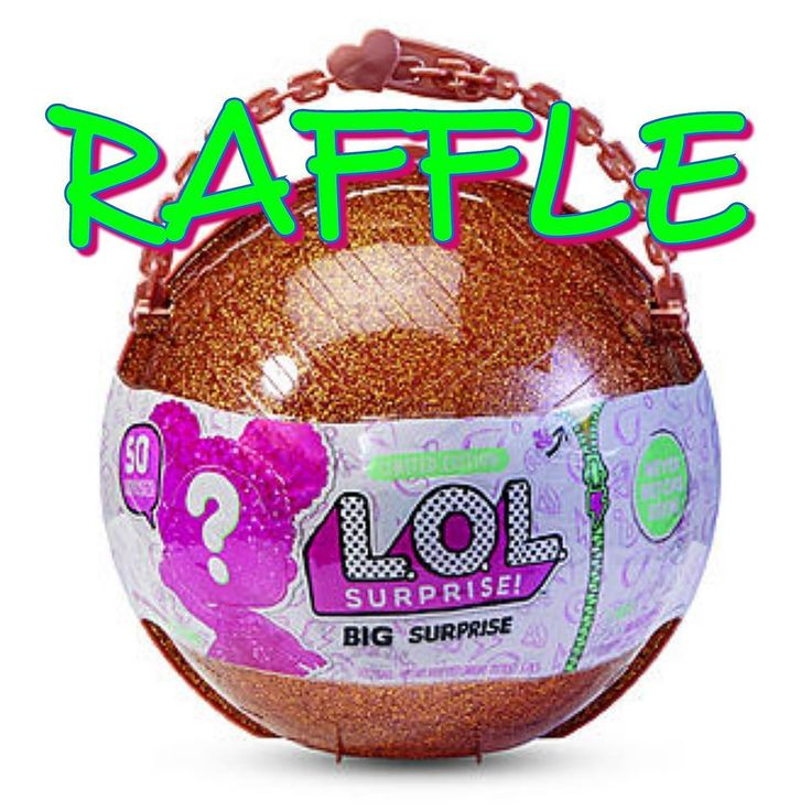HOT TOY ALERT! Winner will receive ONE LOL Big Surprise Spots are $5 each. You may purchase as may numbers as you'd like. Please DM me for Paypal information. Odds of winning are 1/25. This is a game of chance.  I cannot hold numbers for more than 10 minutes without payment.  Good luck!  #couponingcommunity #couponcommunity #coupon #coupons #couponer #couponing #gooddeal #raffle #ufg #uft #idso #iso #hottoy #christmas #wishlist #lolsurprise #bigsurprise #lol #loldolls #lolbigsurprise #winner…