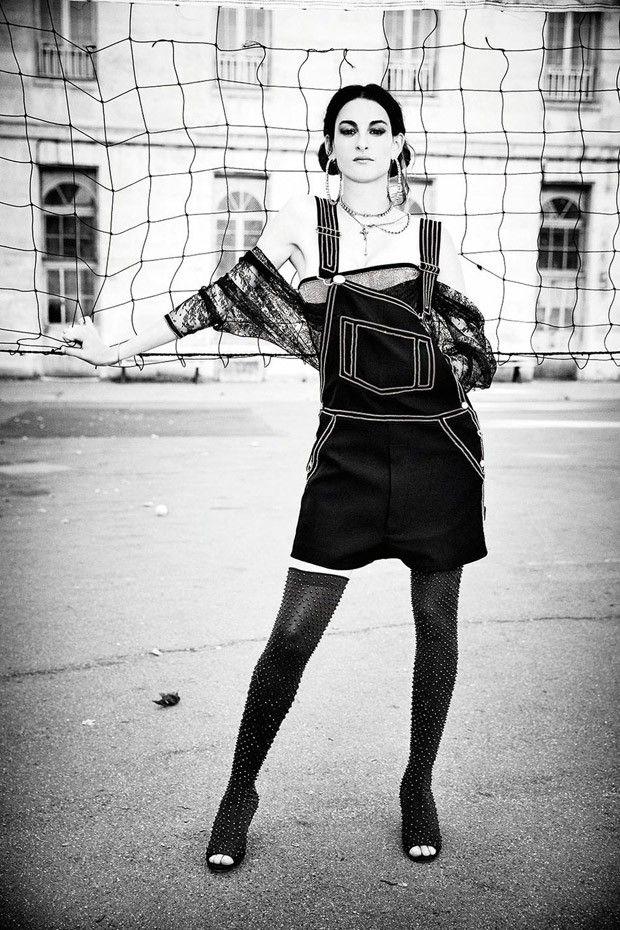 Nine d'Urso by Ellen von Unwerth for Madame Figaro 2015