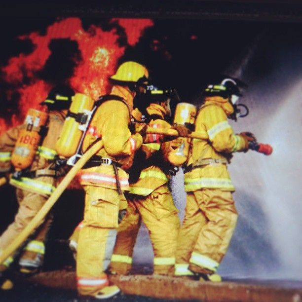 Best Firefighters Images On   Fire Fighters Fire