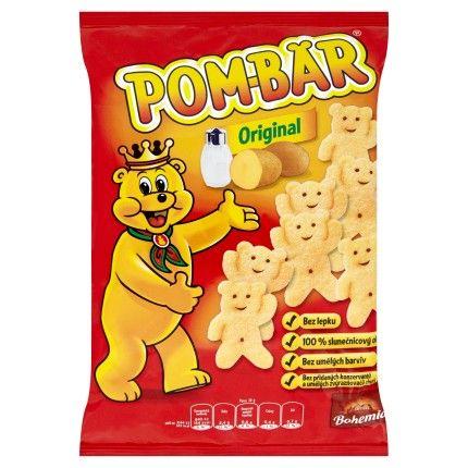 Bohemia Pom-Bär Original bramborový snack 55g