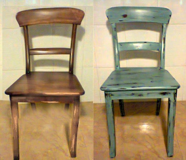 sillas restauradas sillas pintadas sillas comedor sillones sillas vintage restauracin muebles muebles viejos muebles reciclados muebles antiguos