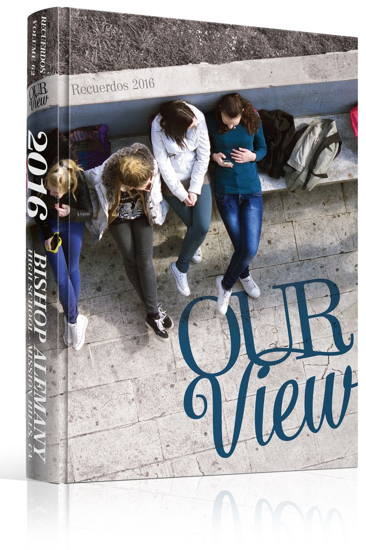 "Yearbook Cover - Unused - ""Our View"" Theme - High POV Photography, Drone…"