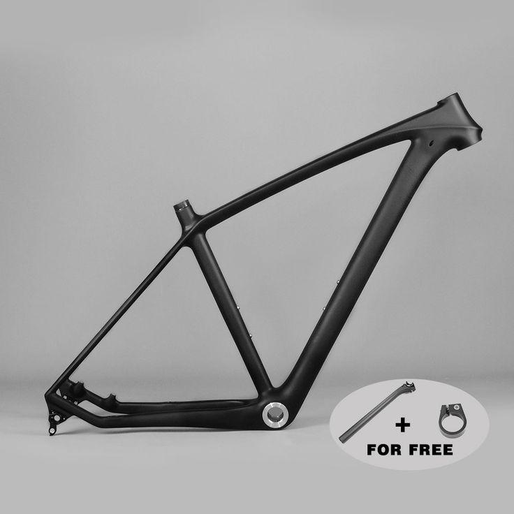 T800 Full Carbon MTB Frame 29er Chinese Carbon Mountain Bike Frames BSA MTB 29 Disc Bicycle Carbon Frame 3K Matte 142*12mm