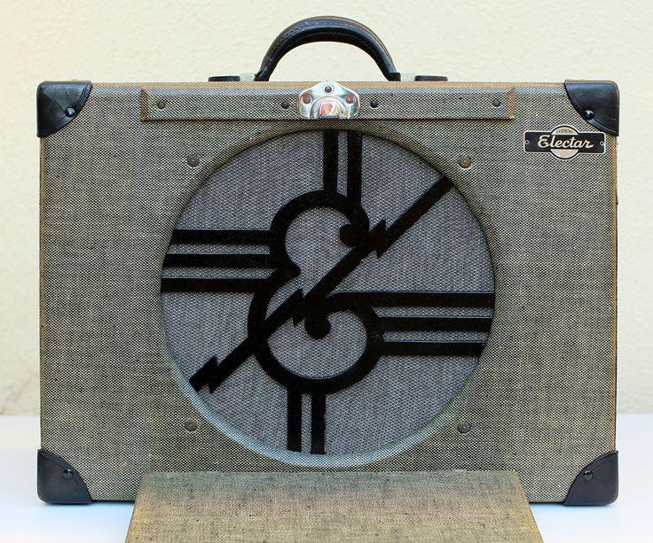 1936 epiphone electar model m vintage tube amp amplifier amplifier. Black Bedroom Furniture Sets. Home Design Ideas