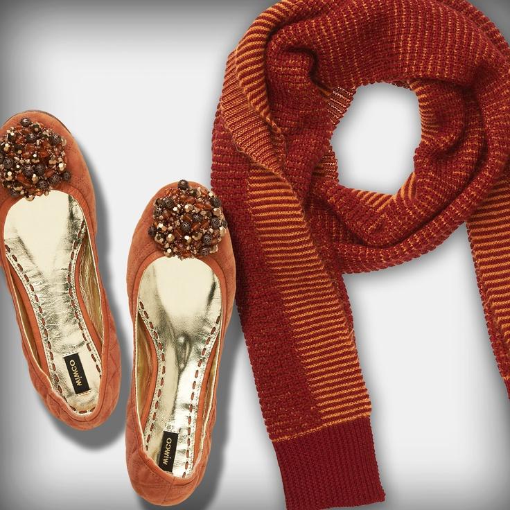 Mimco - Guernica Ballet $179.00 and Monolete Knit Wrap $99.95