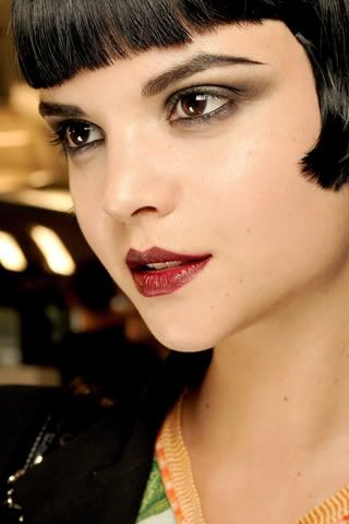 Louise Brooks Makeup Style