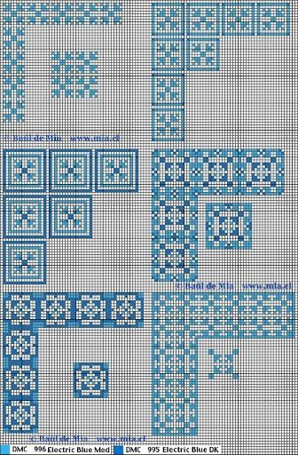 Esquemas alfombras punto cruz - pilar garcia - Álbumes web de Picasa