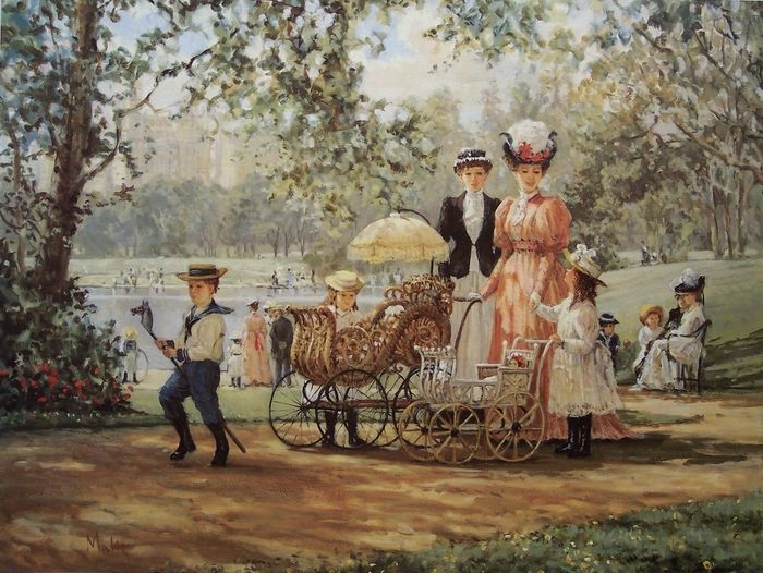 Alan Maley, 1931-1995. A walk in the park.