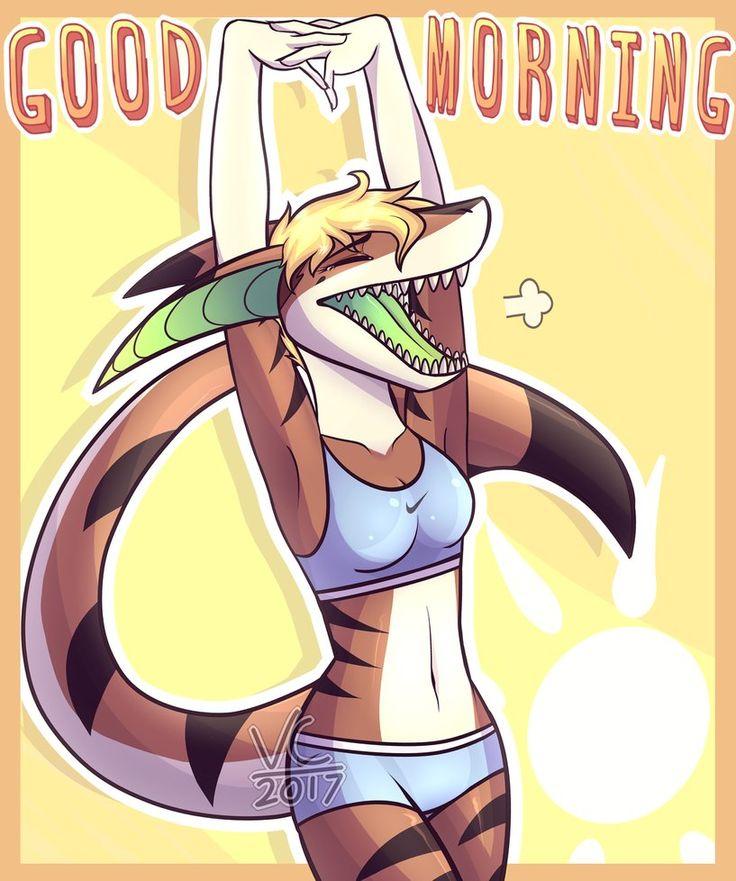 Good morning by sarawolf02pl.deviantart.com on @DeviantArt