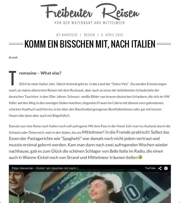 Nicole di Freibeuter Reisen arriverà direttamente dalla Germania per scoprire il lago e i suoi tesori... #tremosinewhatelse  clicca sull'immagine per proseguire la lettura!