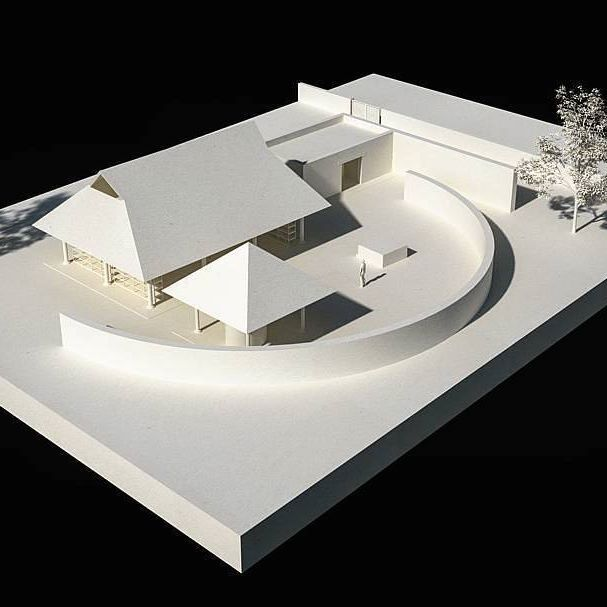 Álvaro Siza's Clay Pavilion for Casa Wabi Foundation, a collaboration with @baaq_tallerdeproyectos. An animation 3D as a great memory! #Architecture #Architecture #Art #Clay #AlvaroSiza #CasaWabi #Mexico #Oaxaca #Pritzker #Project #viztudio Source @incarquitectura