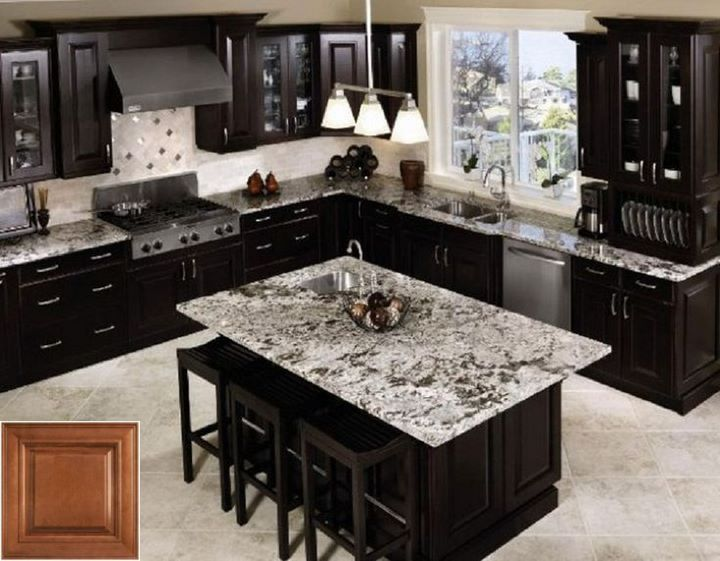 The Use Of Oak Cabinets Blue Countertop Oakkitchencabinets Homeideas With Images Kitchen Cabinet Inspiration New Kitchen Cabinets Kitchen Cabinet Design