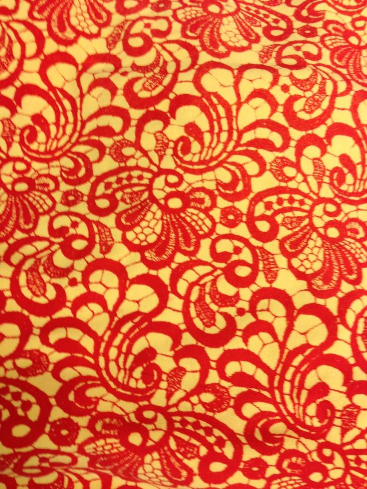 Ahambu lace print SS 012