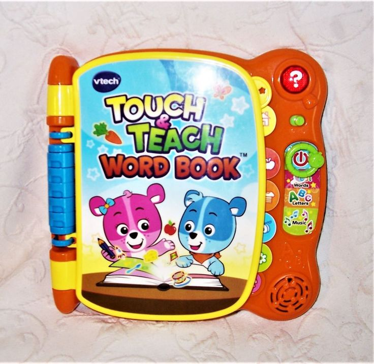 VTech Touch & Teach Word Book 1416 Electronic