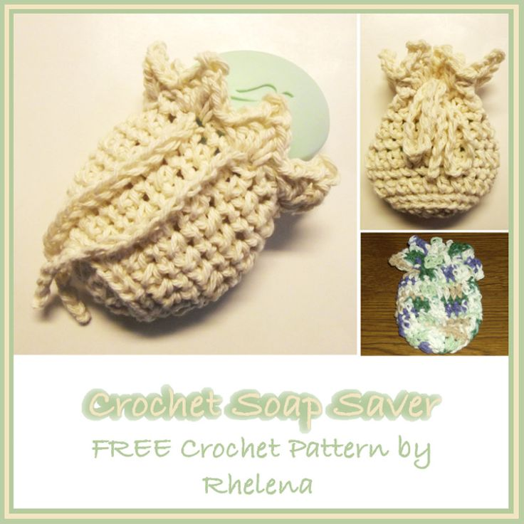 Free Crochet Patterns For Soap Bags : 17 Best images about Crochet...Soap Savers on Pinterest ...
