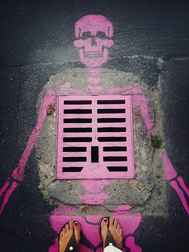 Originele Straatkunst - Vrouwen.nl