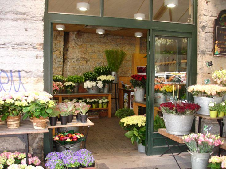 flower shop in France