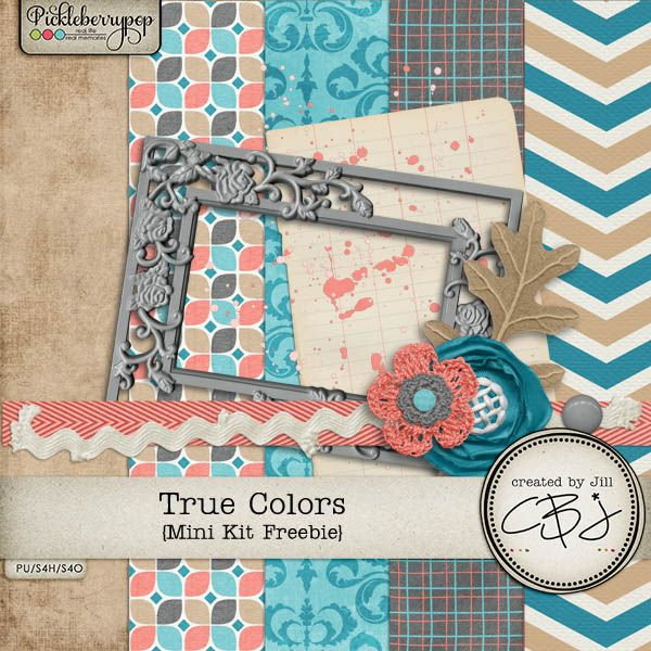 FREE Created by Jill Scraps: A few freebies for you!