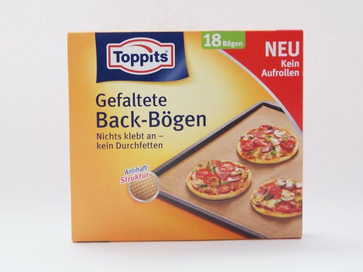 ★ Aktuelle Produktvorstellung: Toppits Gefaltete Back Bögen - Das Neueste vom Neuesten! Habt Ihr die schon ausprobiert? :)  http://www.kjero.com/testberichte/toppits-backen.html