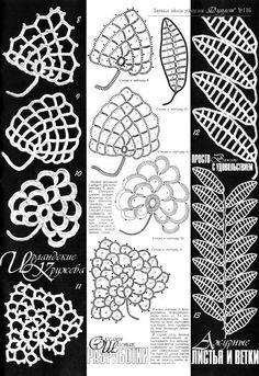 Crochet: Ireland leaves