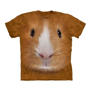 Guinea Pig Face Tee Adult now featured on Fab. I liked the pug better but couldn't find it!