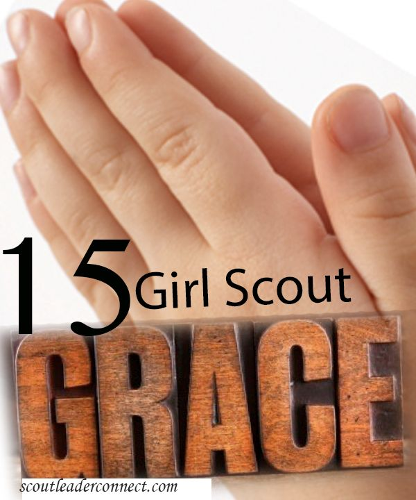 We have used many different types of Graces; we usually assign one group to be in charge of the grace.  Day camp we had 5 groups and let each group decide how to teach the other girls, some used poster boards or repeat after me approach but one way that I remembered that worked very …