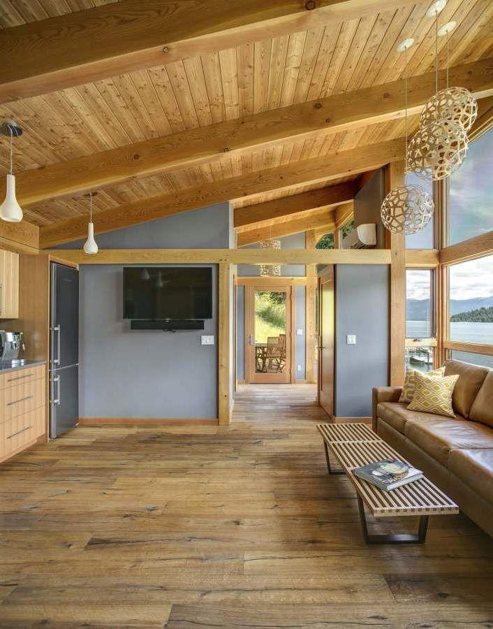 Fertighaus Holz Deutschland ~ holz fertighaus mit sparsamen interieur