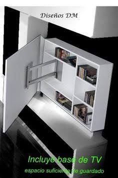 M s de 25 ideas incre bles sobre muebles television en for Mueble giratorio 08