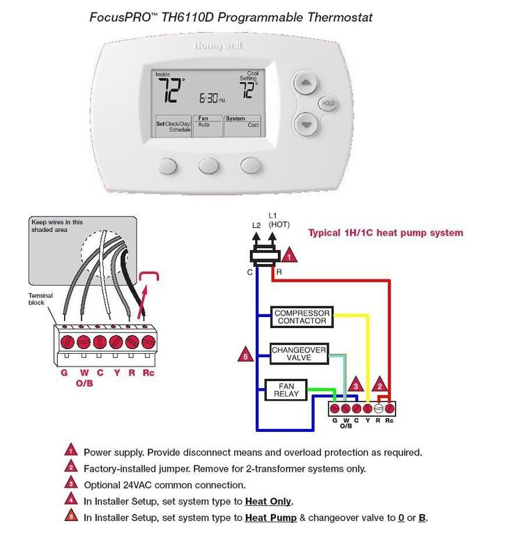 Awesome Honeywell Focuspro 5000 Wiring Diagram In 2020 Thermostat Installation Hvac Thermostat Thermostat Wiring