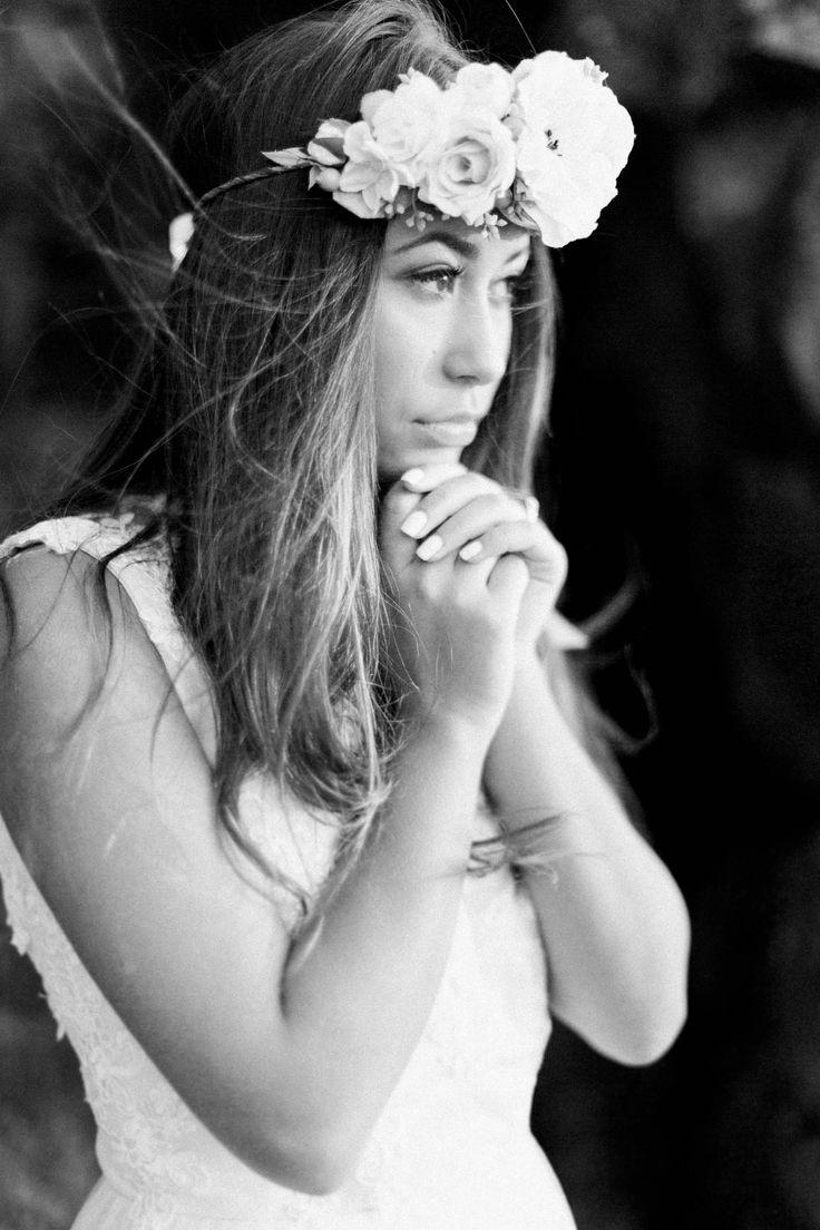BEAUTY & THE BAY OF FUNDY Beauty & The Bay of Fundy - halifax wedding photographer Bridal headpiece, bries, weddings, flower crown, bridal hair, bridal make up