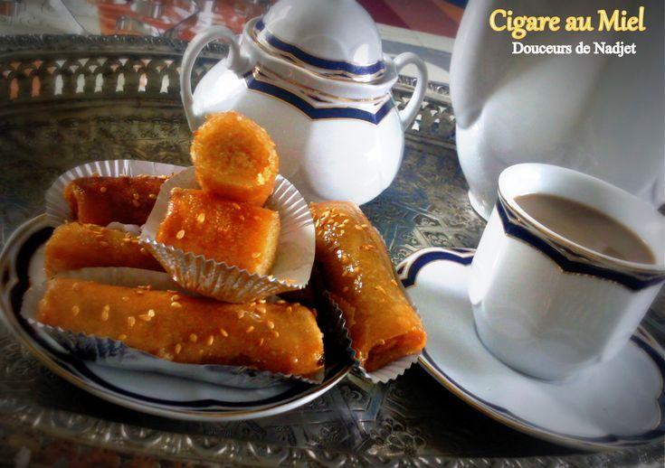 Salem Aleykoum, Bonjour Voici une recette de cigare au miel très facile à faire croquant et fondant à la crème d'amande et de zeste de citron légèrement miellé qui accompagnera parfaitement un thé ou un café. Ingrédients 1 paquet de feuilles de brick...