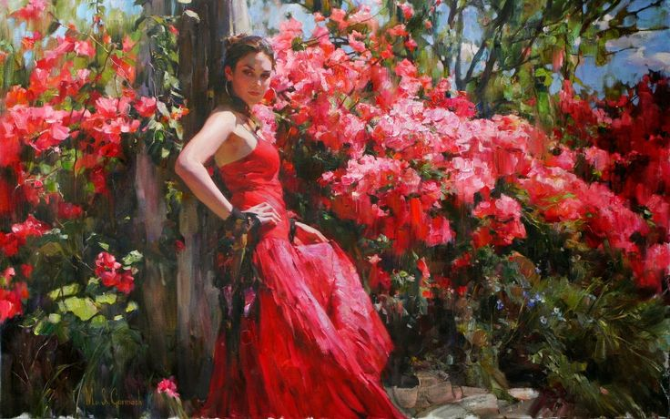 Michael and Inessa Garmash, Husband and Wife Team, Romantic Impressionists.