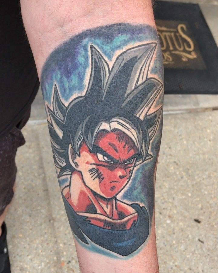 Top 39 Best Dragon Ball Tattoo Ideas 2021 Inspiration Guide Dragon Ball Tattoo Z Tattoo Dbz Tattoo