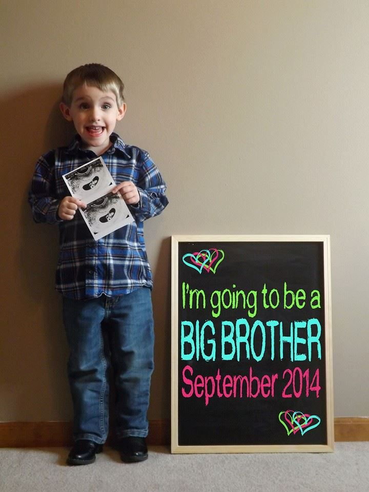 17 Best images about announcement ideas – Big Brother Birth Announcement Ideas