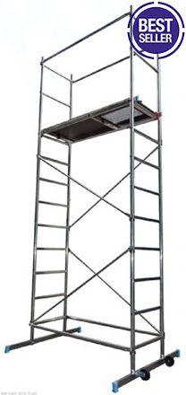 SUPER 5m DIY Aluminium Scaffold Tower FREE LIFETIME GUARANTEE