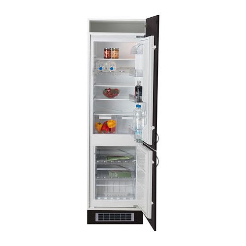 effektfull integrated fridge freezer a ikea flat. Black Bedroom Furniture Sets. Home Design Ideas