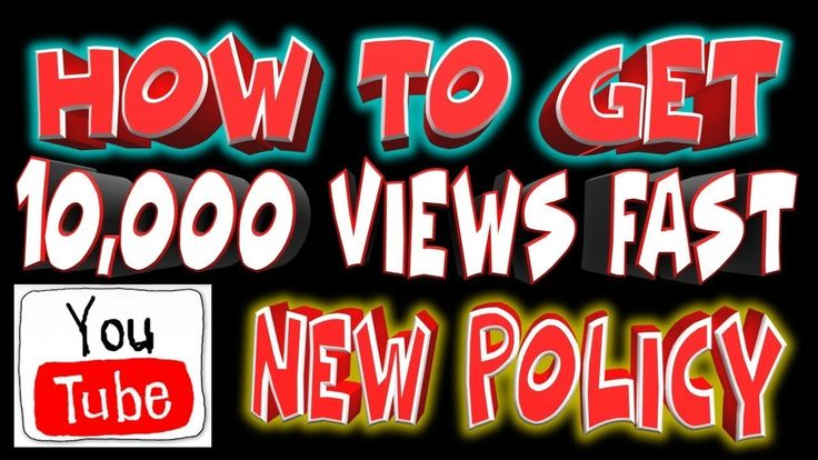 How to Increase 10K Views Faster