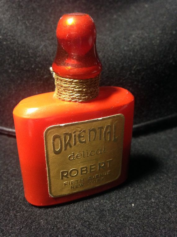 Rare Burnt Orange Oriental Delicate Robert Fifth Avenue NY