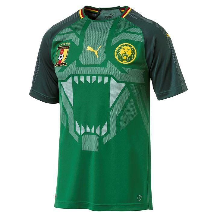 7743c3bfa Cameroon 2018 Home Men Soccer Jersey Personalized Name and Number -  zorrojersey
