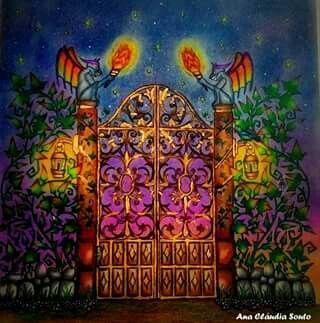 Portão - Floresta Encantada