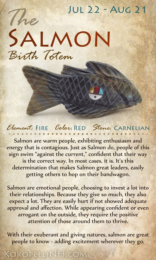 Native American Birth Totem