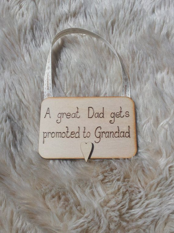 Great Dad wall Hanging on 4mm plywood by HandmadebyLauraM on Etsy, £6.00