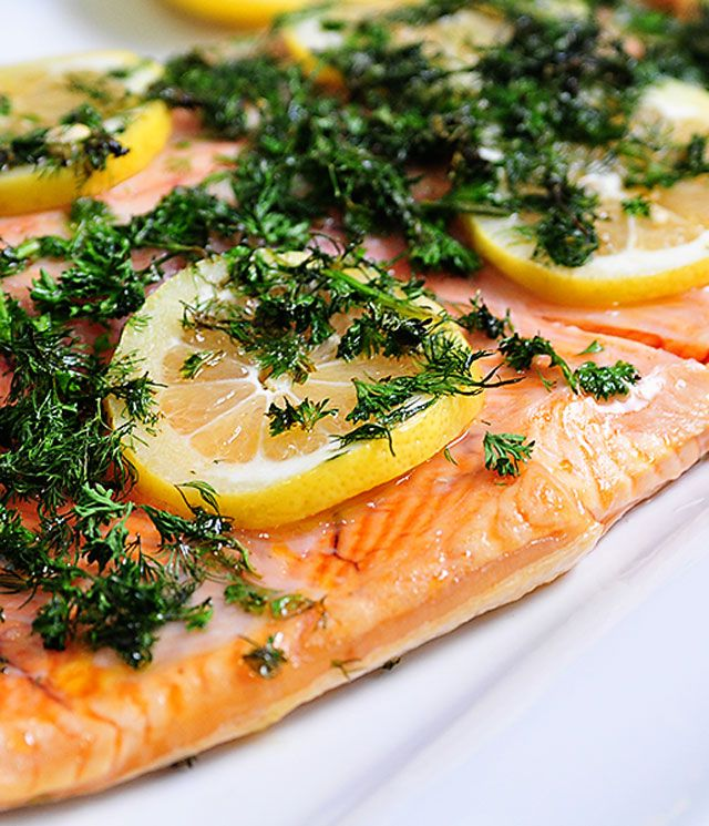 Salmon recipes are always well-loved and this lemon dill salmon recipe will quickly become a favorite for entertaining or weeknight meals!