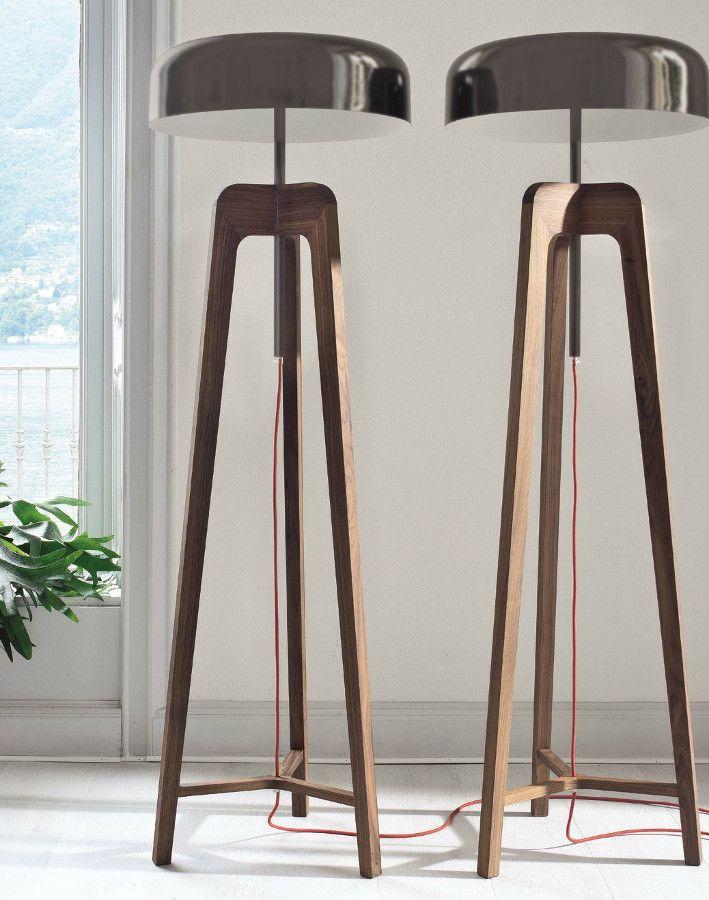 Direct light floor #lamp PILEO by Porada | #design Sovrappensiero