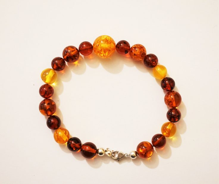 Handmade Baltic Amber bracelet, 11g by AmberLovers20 on Etsy