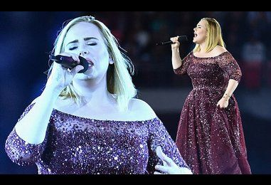 Adele hints that she will no longer go on tour